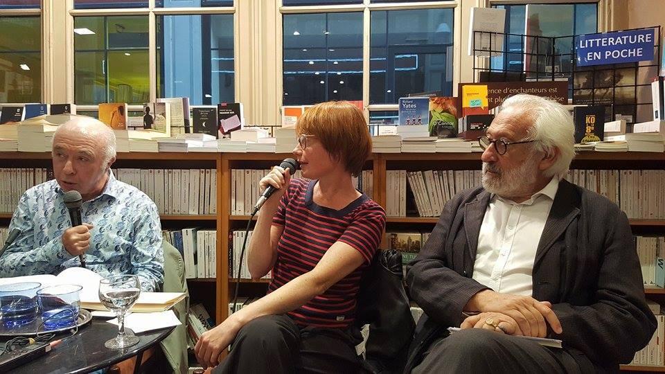 Jacques Sojcher, Virginie Devillers, Richard Kenigsman photographiés par Nathalie Gassel, source : facebook.com