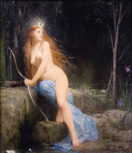 Jules Joseph Lefèbvre, Diana, 1879, commons.wikimedia.org