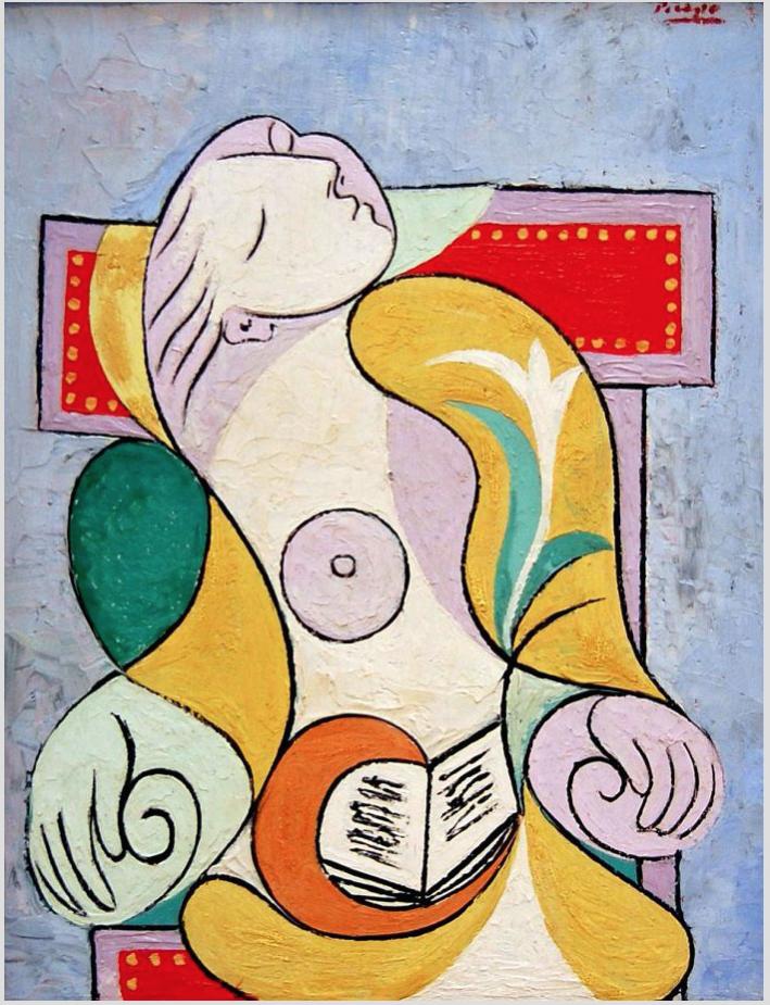 Pablo Picasso, La lecture, 1932, agent4stars.com