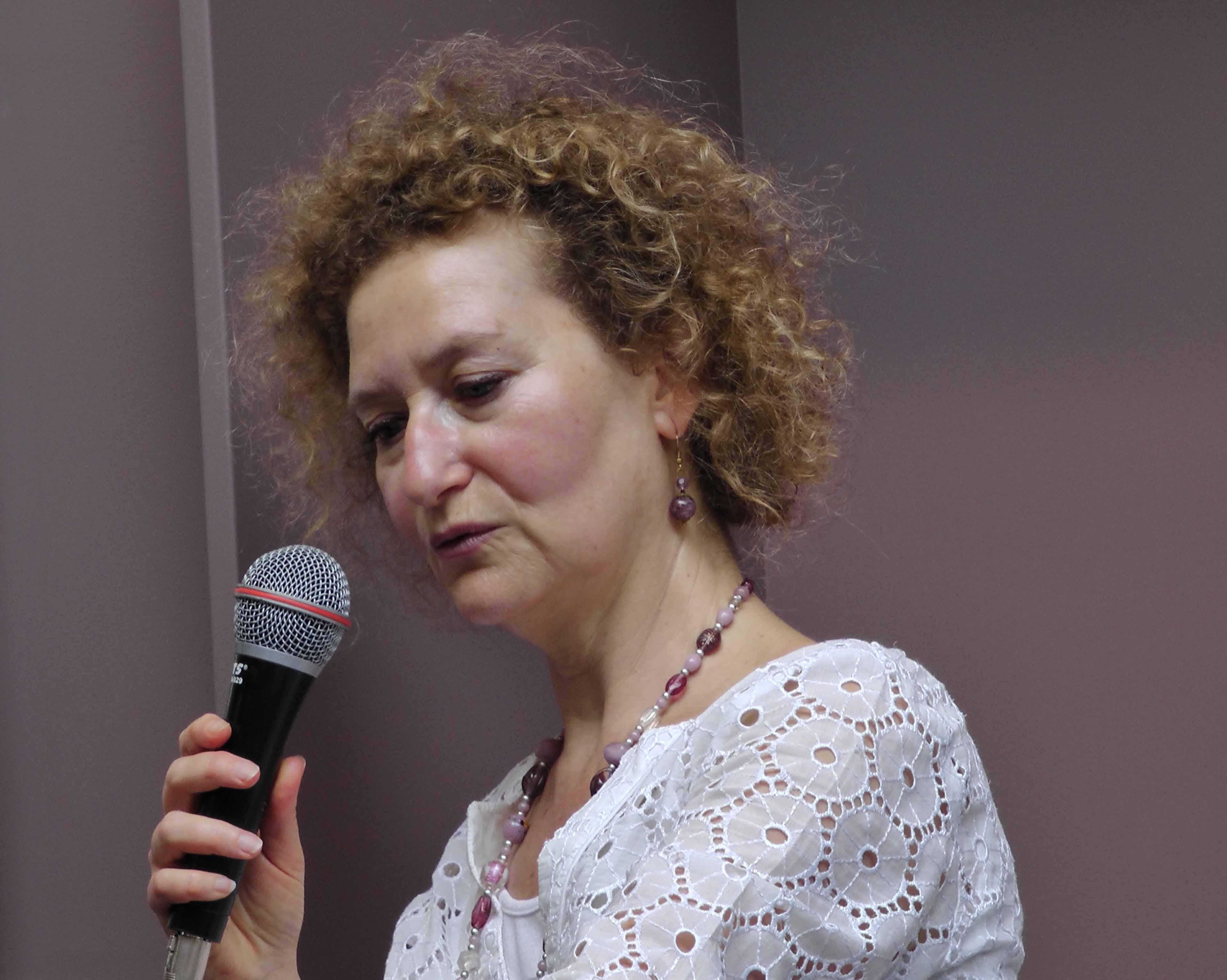 La peintre, psychologue et psychanalyste Rachel Silski