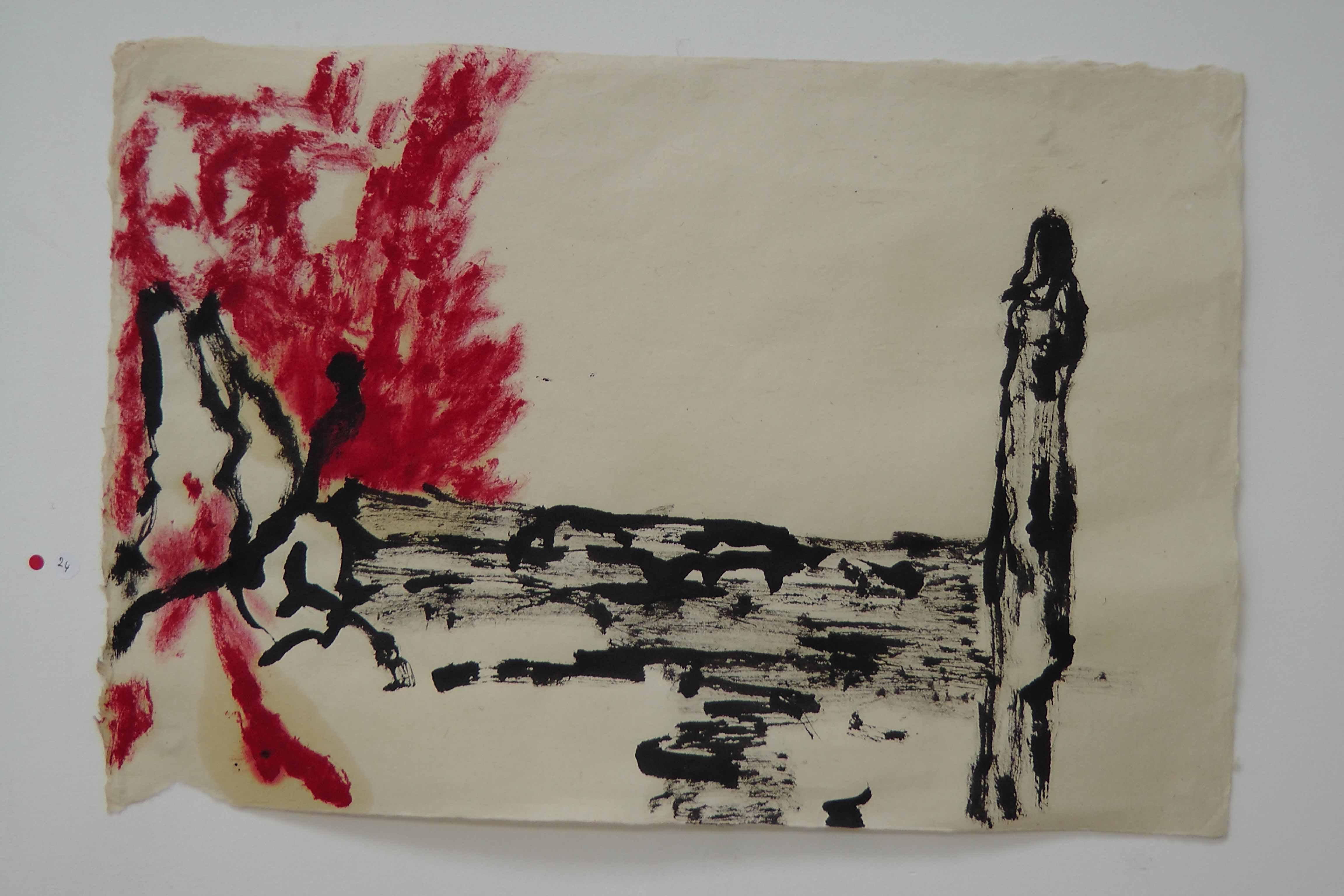 Rachel Silski, Le grand sacrifice, série Soleil Trompeur, Parcours d'artistes 2016, vagabondssanstreves.com