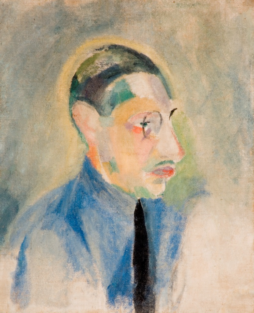 Portrait d'Igor Stravinsky par Robert Delauney, commons.wikimedia.org