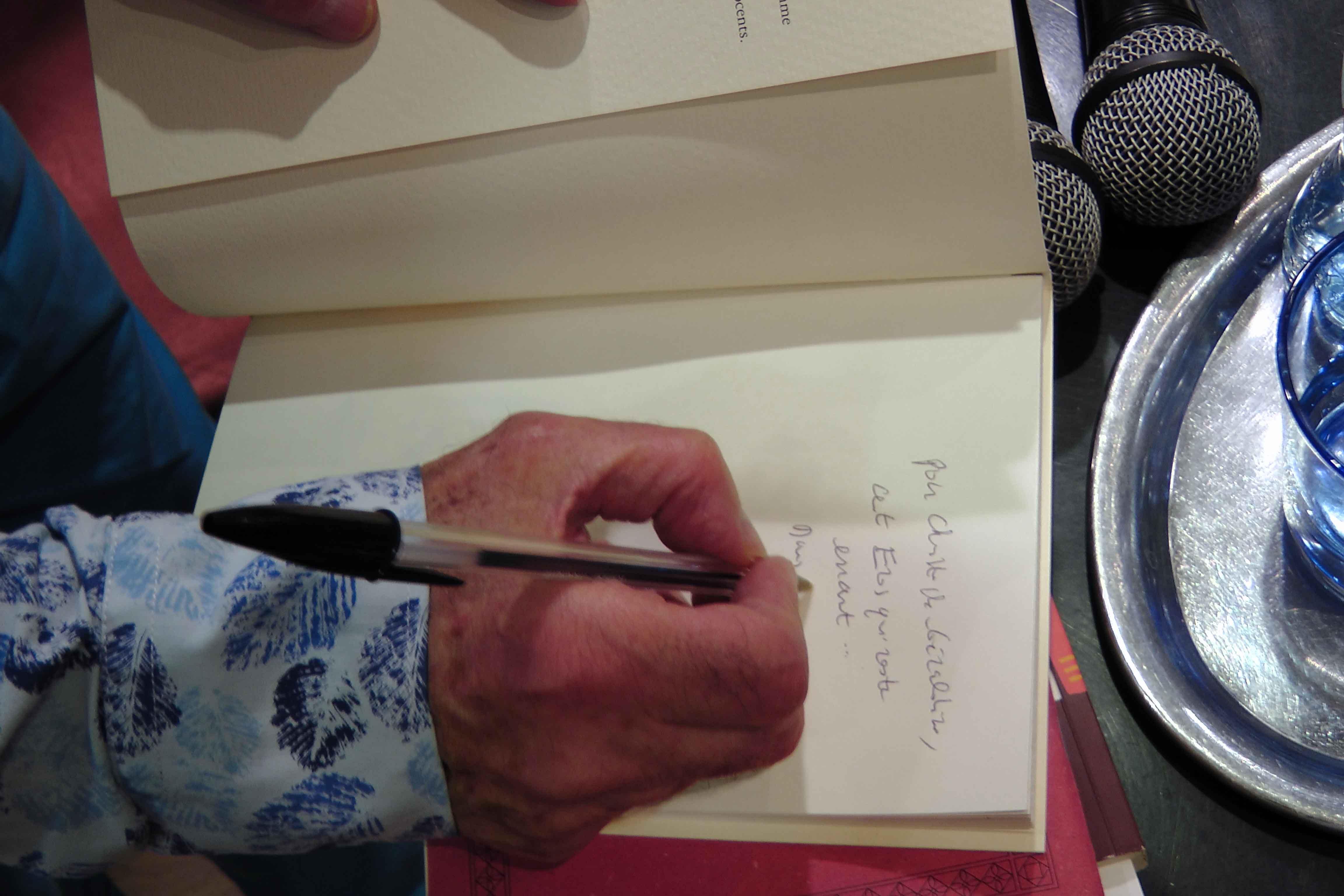 Jacques Sojcher, dédicaces, Librairie Tropismes, Bruxelles, vagabondssanstreves.com
