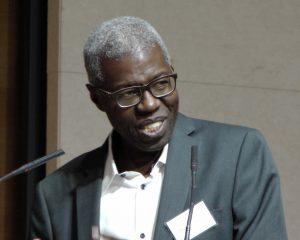 Le philosophe Souleymane Bachir Diagne au Collège de France, vagabondssanstreves.com