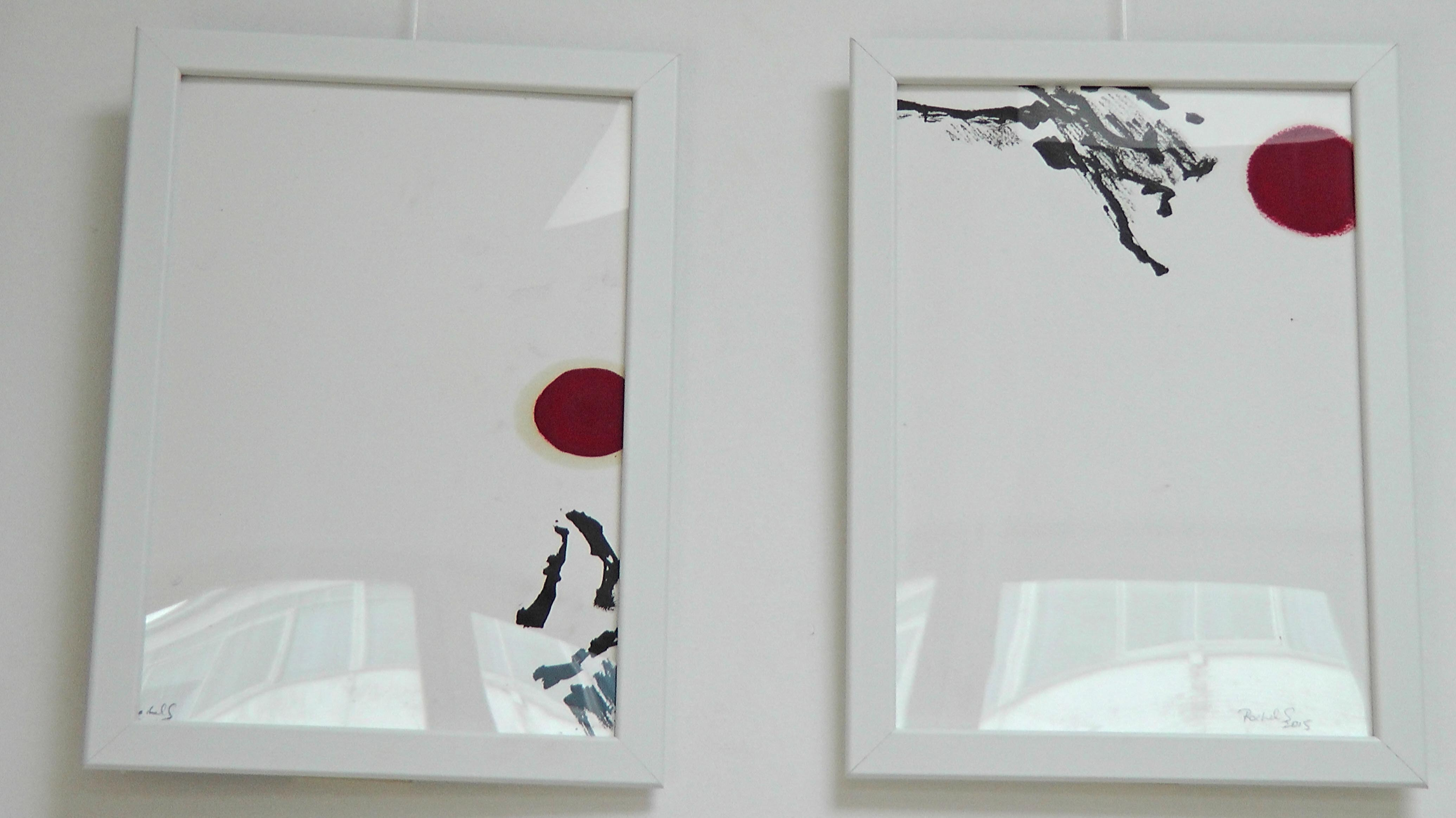 Rachel Silski, Rachel Silski, Études préparatoires pour la série Très Doucement, illustrant le recueil de poésie éponyme de Jacques Sojcher, vagabondssanstreves.com