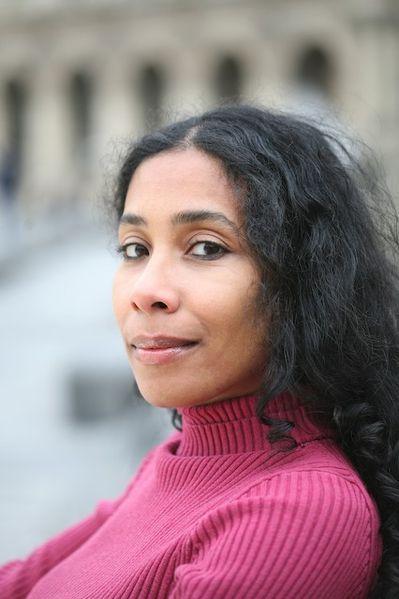 L'écrivaine Bessora photographiée par Alexis Duclos, commons.wikimedia.org