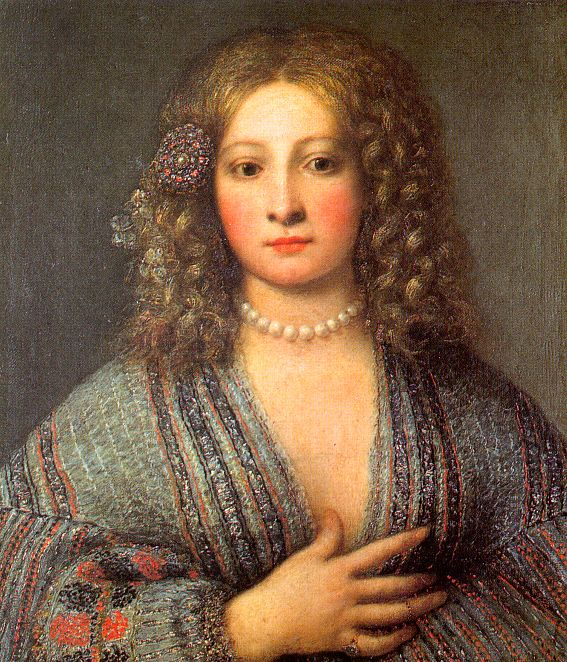 Girolamo Forabosco, Venetian courtesan, commons.wikimedia.org