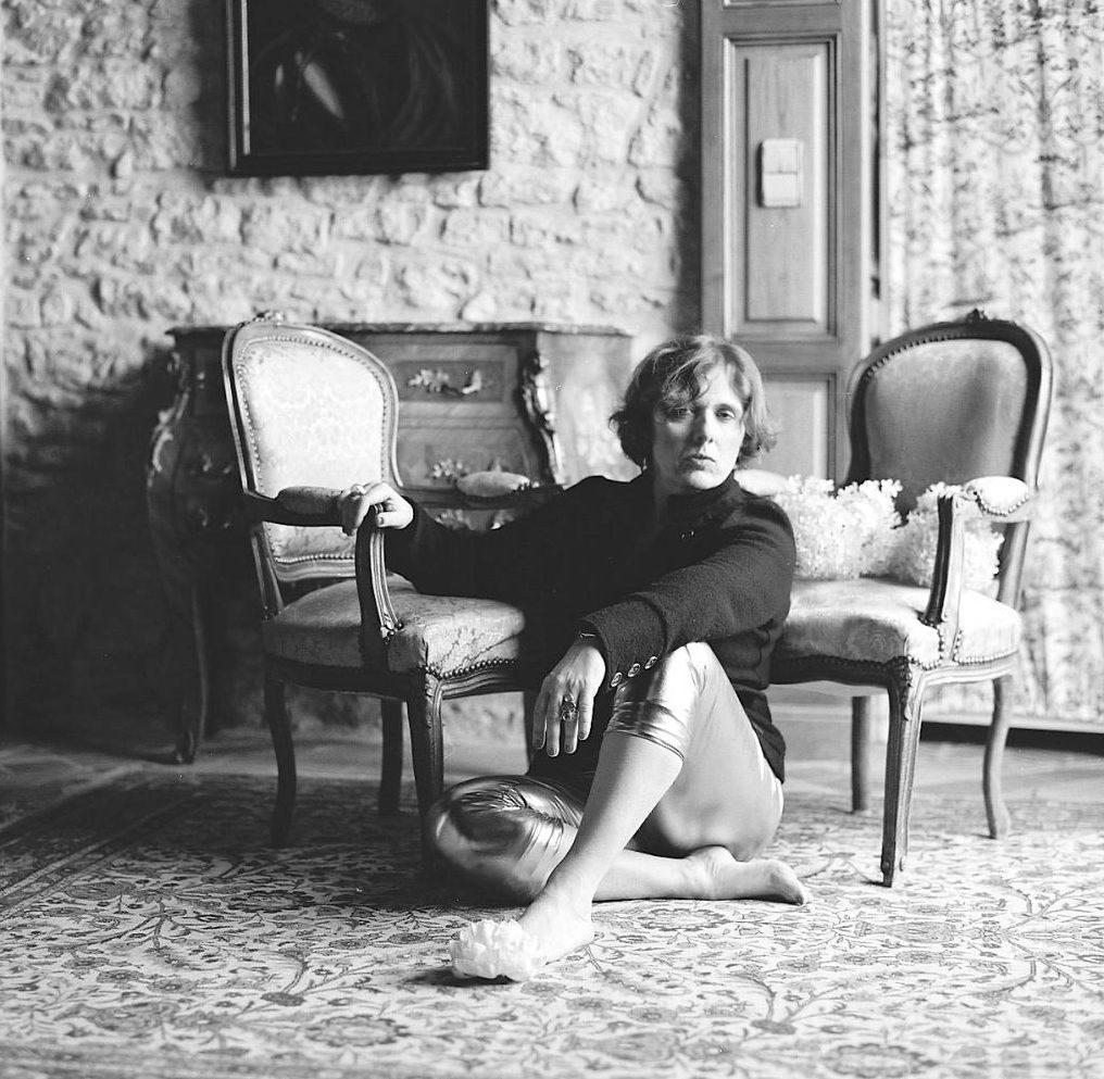 Portrait de l'écrivaine Nathalie Gassel par Pierre-Dominique Schmidt