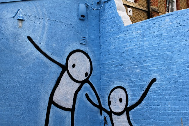 Stik, Street Artist, Dulwichstreet art, London, streetartlondon.co.uk