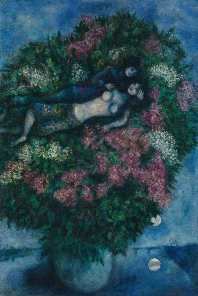 Marc Chagall, amoureux aux lilas, 1930, metmuseum.org