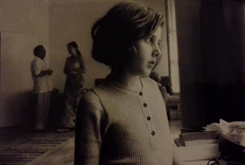 L'écrivaine Nathalie Gassel enfant, nathaliegassel.e-monsite.com