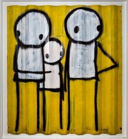 Stik, Street artist, Londres