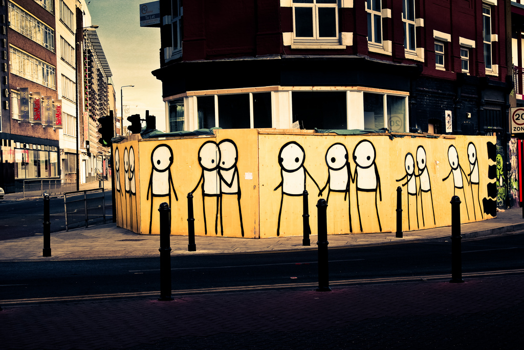 Stik, Street Art, East London