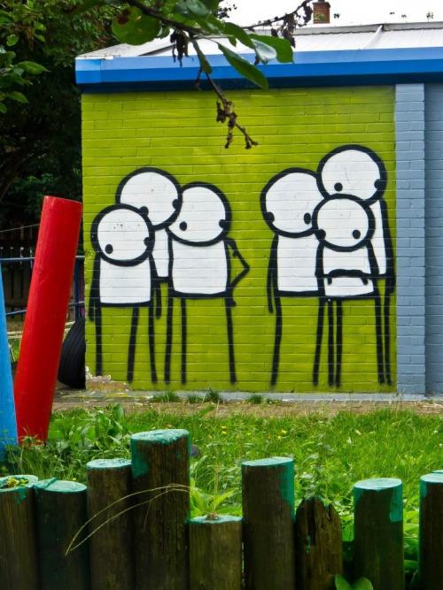 Stik, Street Art, London