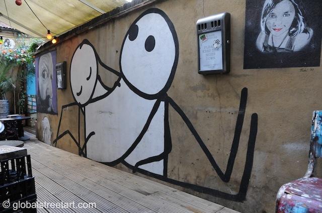 Stik, Street art, londonist.com