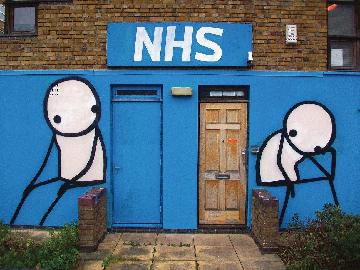 Stik, Street Art, Londres