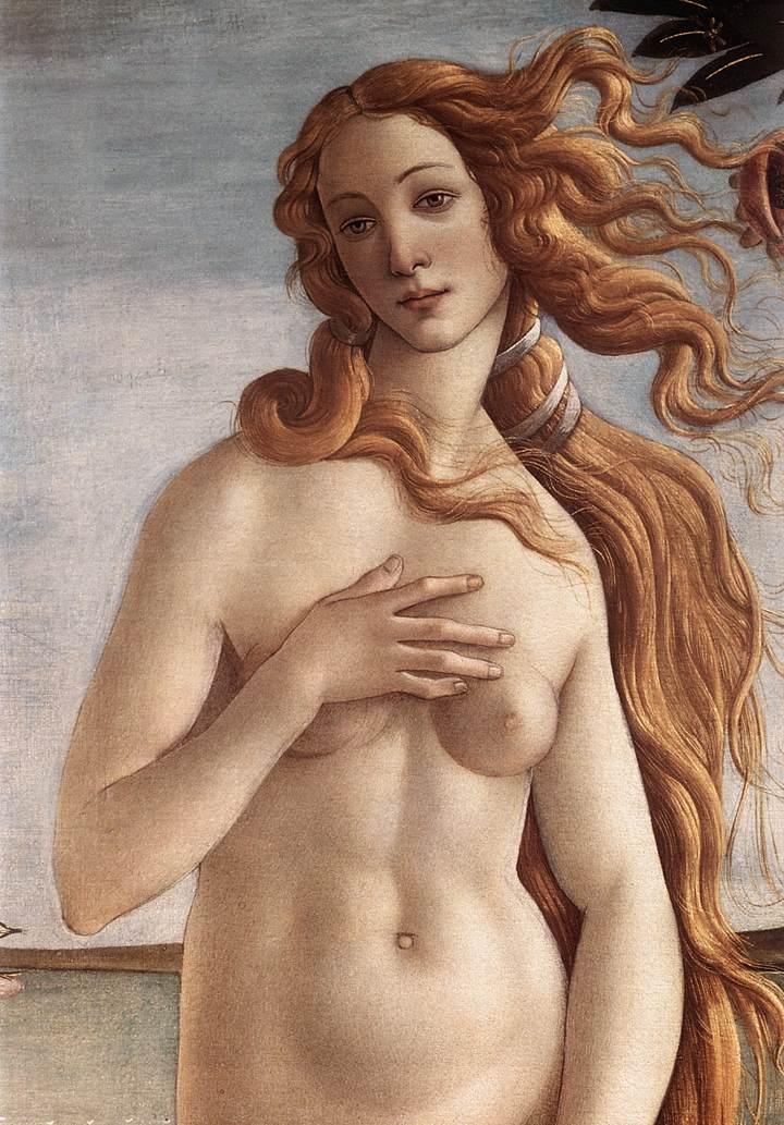 Sandro Botticelli, La Naissance de Vénus, Galerie des Offices, Florence, commons.wikimedia.org