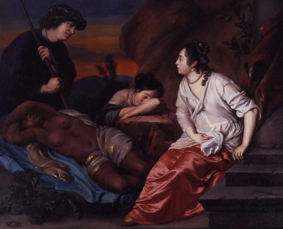 Heyman Dullaert, Cimon et Éphigène, musée départemental d'Épinal, epinalinfos.fr