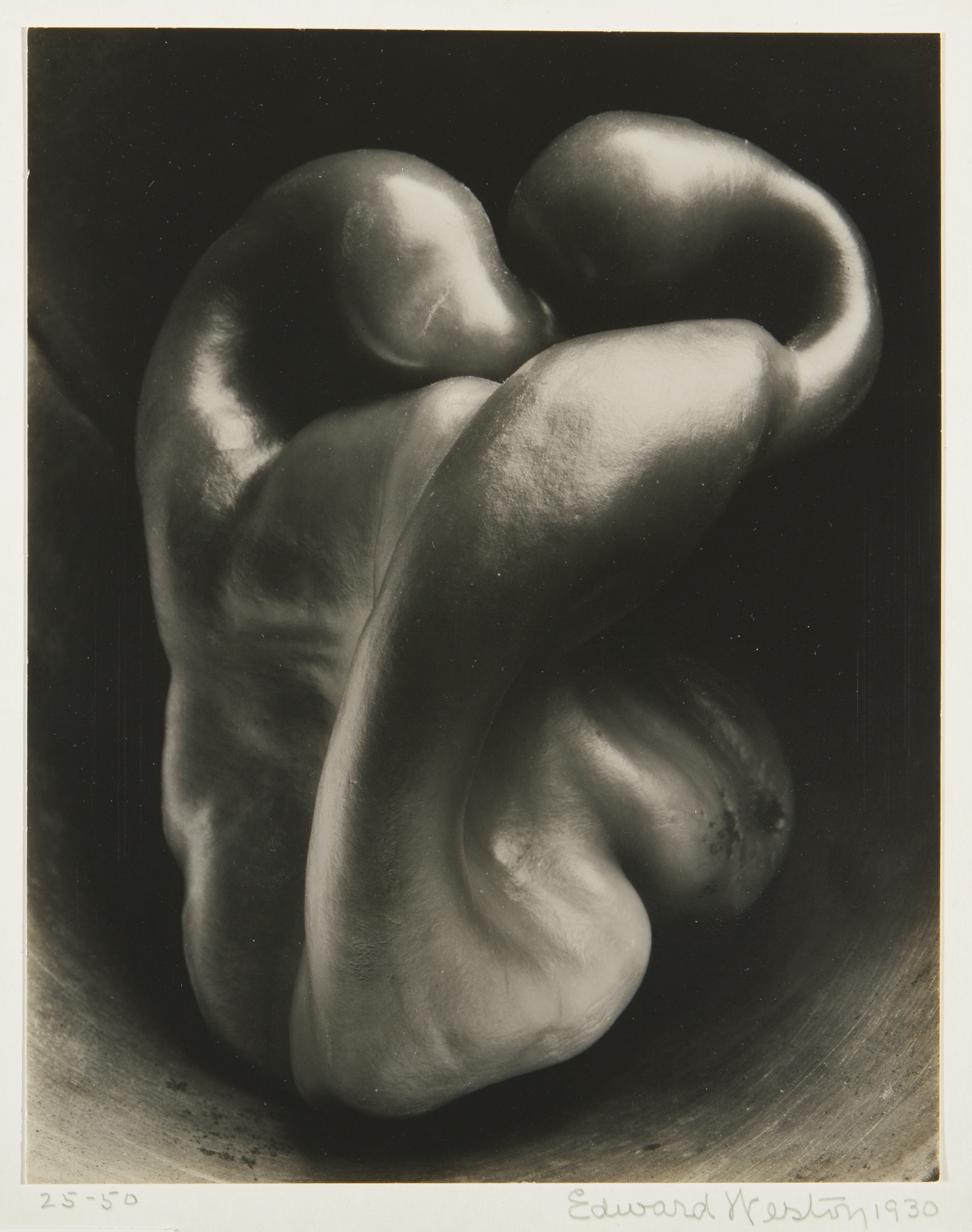 Edward Weston, Pepper n° 30, sothebys.com