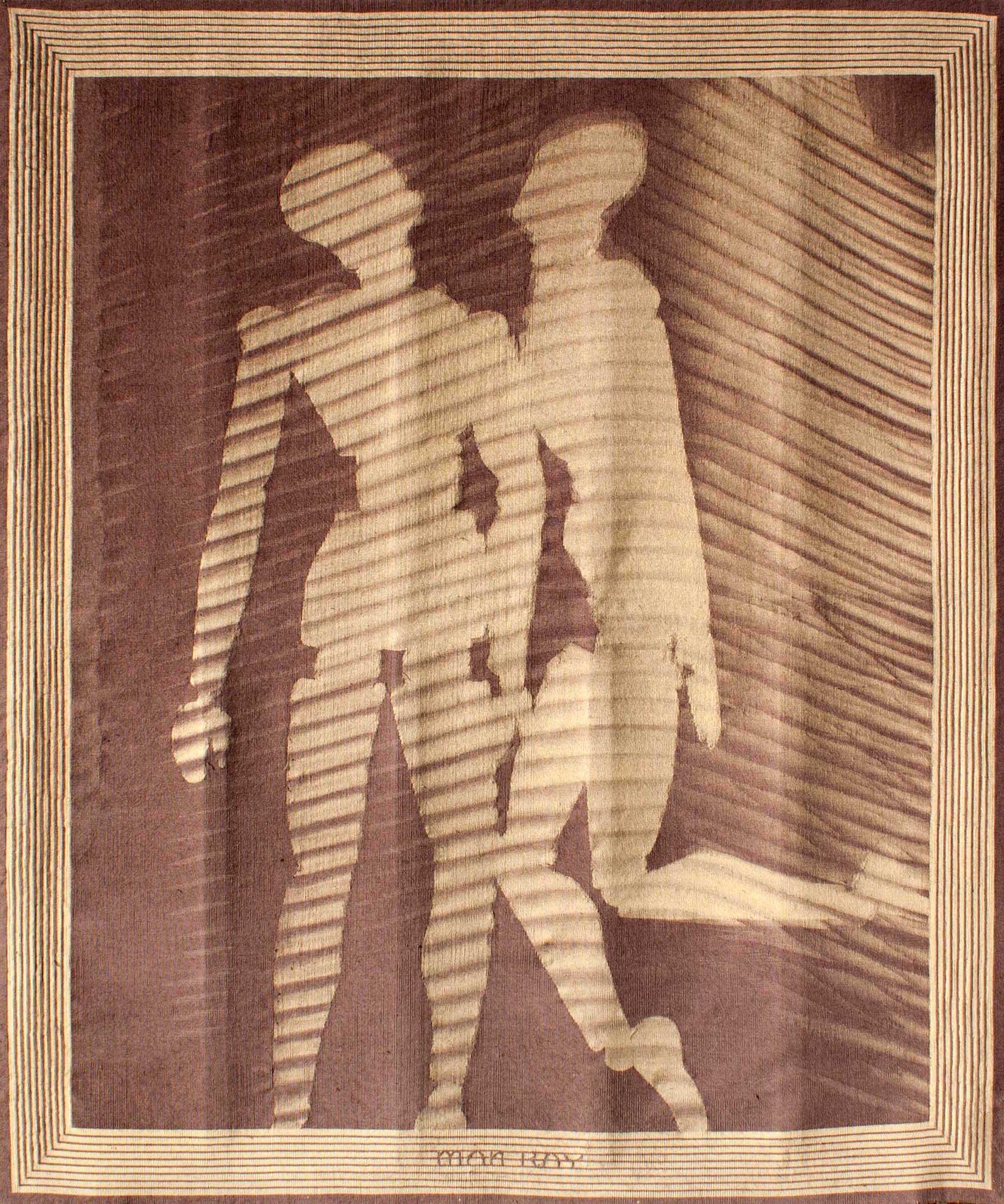 Shadows, l'unique tapisserie tissée d'après Man Ray, agoradon.com