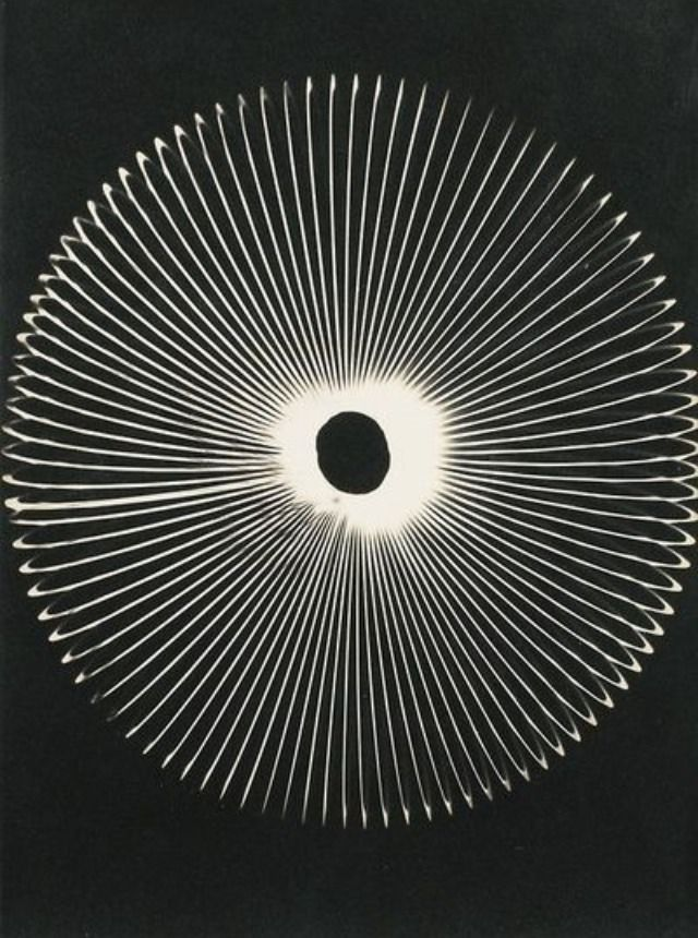 Man Ray, Untilted rayogram, 1956, pinterest.com