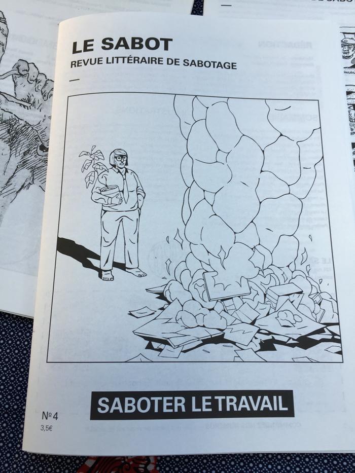 Interview d'Antoine Jobard pour la sortie du numéro 4 du Sabot