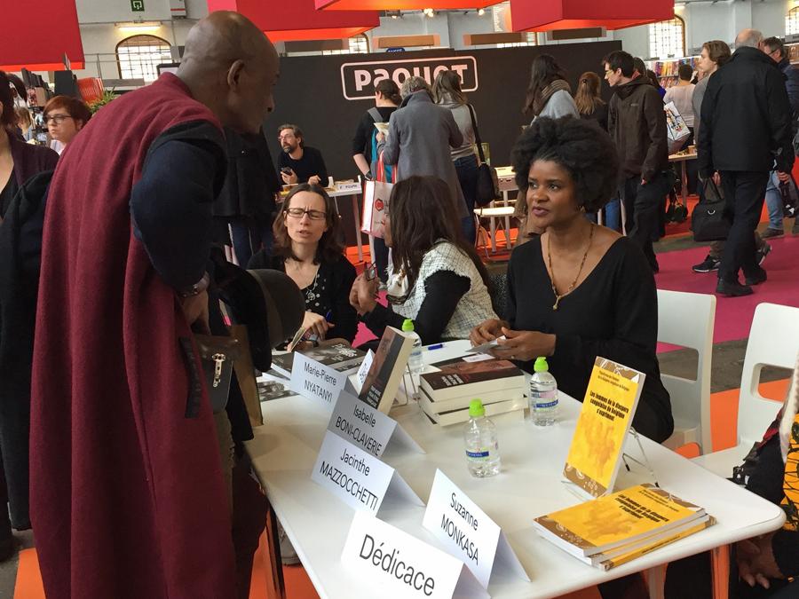 Isabelle Boni-Claverie et les Conversations de 50 Nuances de Noir