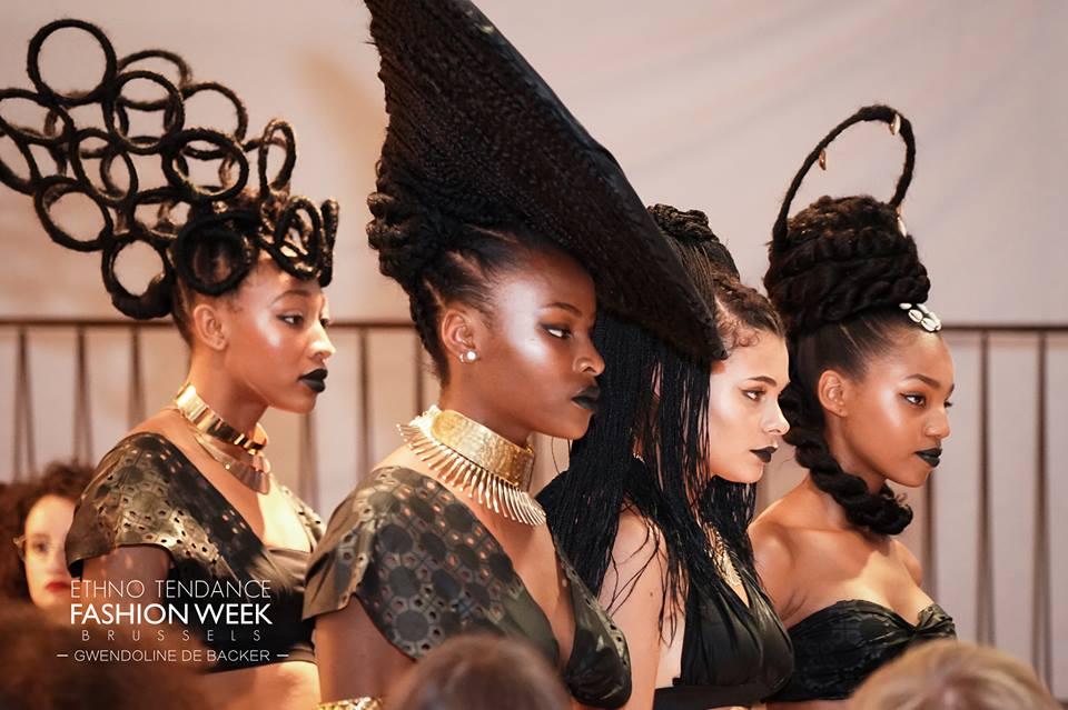 Réjouissante Ethno Tendance Fashion Week Brussels 2018